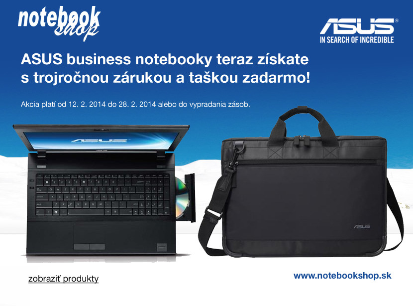 ASUS Business notebooky