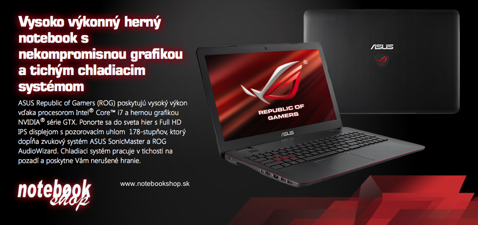 ASUS ROG Gaming Notebook G751
