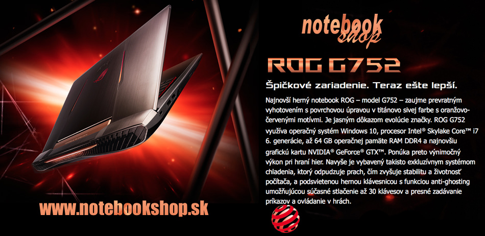 ASUS ROG Gaming Notebook G752