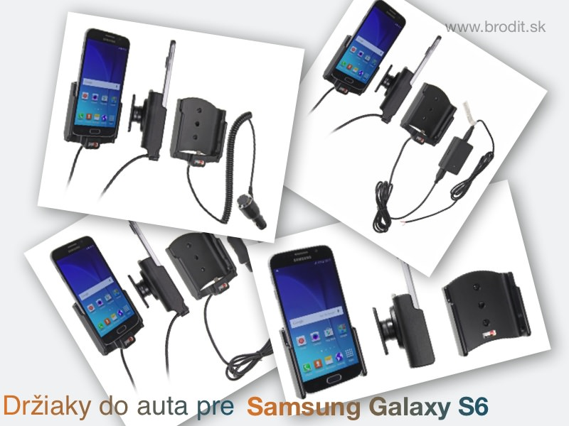 Držiaky do auta pre Samsung Galaxy S6