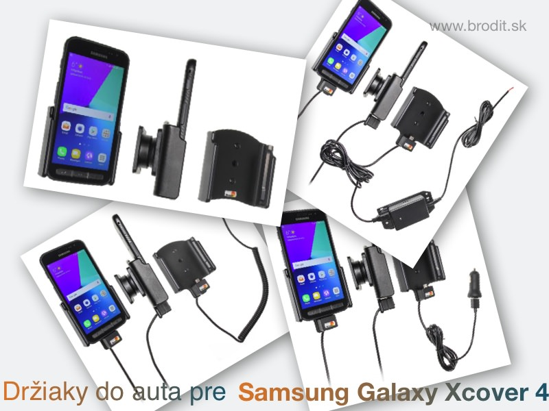 Držiaky do auta pre Samsung Galaxy Xcover 4