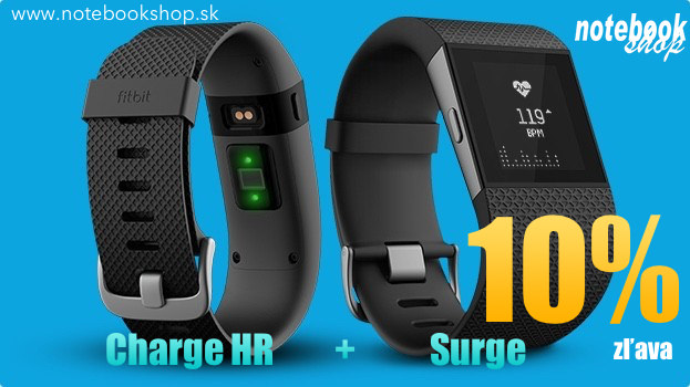 Fitbit Surge + Charge HR Pack