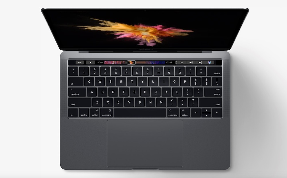 MacBook Pro 2017 s Touch Bar