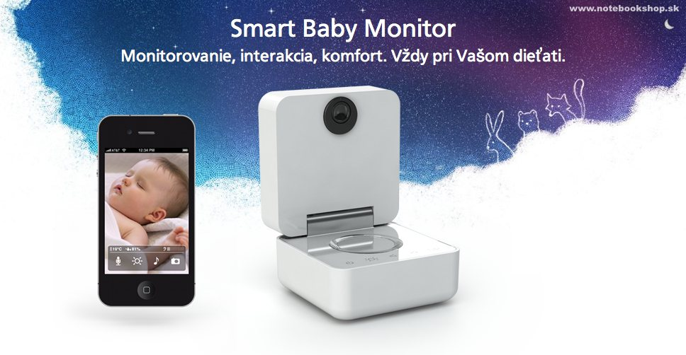 Babyfón pre iOS & Android - Smart Baby monitor