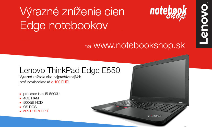 Lenovo ThinkPad Edge E550