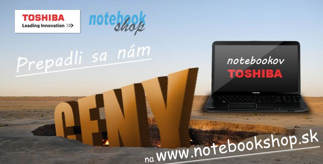 Pád lien notebookov Toshiba Satellite