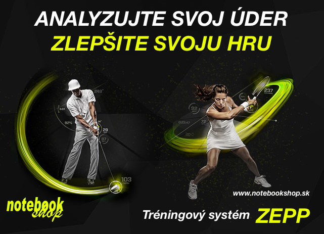 Zepp Tennis & Gold 3D Motion Sensors