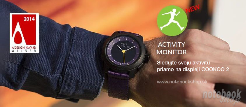 COOKOO 2 Activity monitor