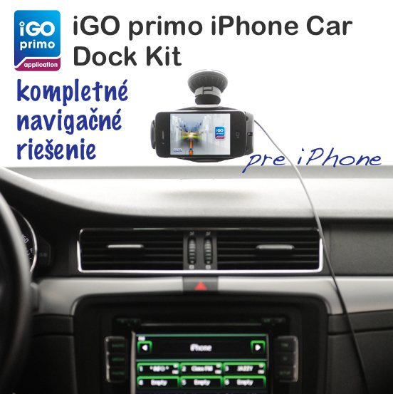iGO primo iPhone Car Dock Kit