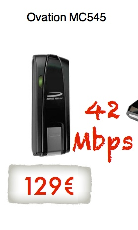 Ovation MC545 42 Mbps USB Modem Dual Carrier HSPA+