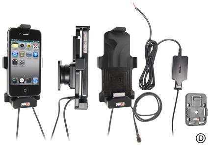 Obrázok produktu Aktívny držiak pre Apple iPhone 4/4S s puzdrom výst ext ant Molex