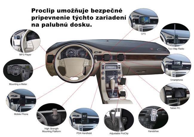 Obrázok produktu Proclip 855292 - Skoda Kodiaq 17-20, stred