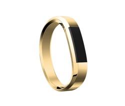 Obrázok produktu Fitbit Alta HR Metal Bracelet Gold - náhradný kovový náramok