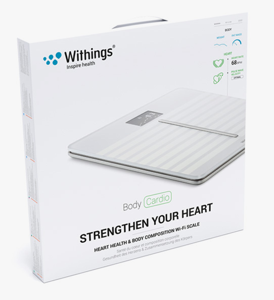 Obrázok produktu Withings Body Cardio Heart & Body Composition Wi-Fi scale white