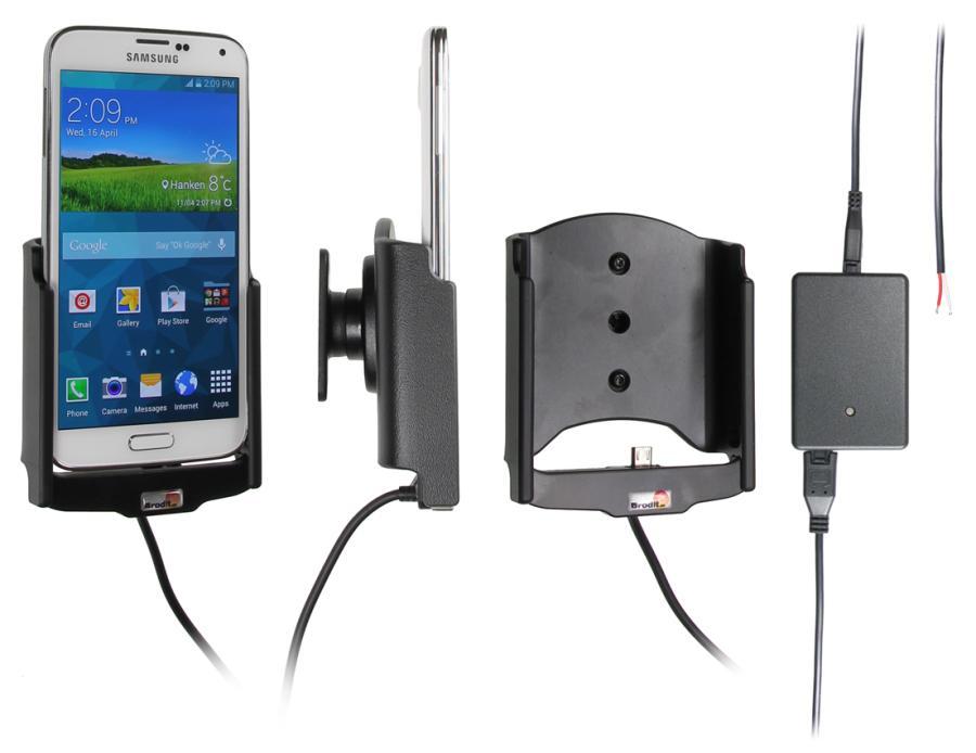 Obrázok produktu Aktívny držiak pre Samsung Galaxy S5 G900 s Molex kon.