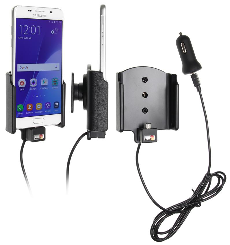 Obrázok produktu Aktívny držiak pre Samsung Galaxy A5 2016 A510F USB+CL