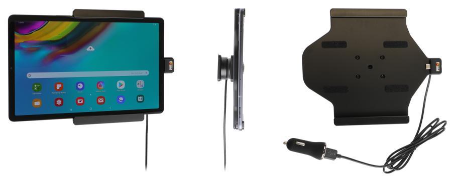 Obrázok produktu Aktívny držiak do auta pre Samsung Galaxy Tab S5e 10.5 USB+CL
