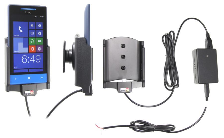 Obrázok produktu Aktívny držiak pre HTC 8S s Molex kon.