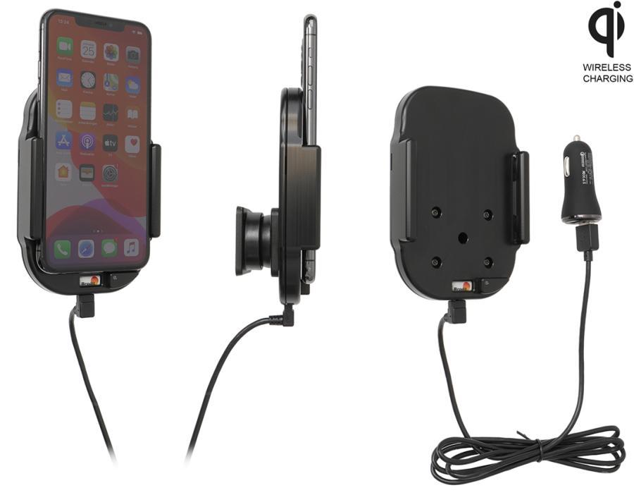 Obrázok produktu Aktívny držiak pre Apple iPhone 11 Pro Max Qi USB