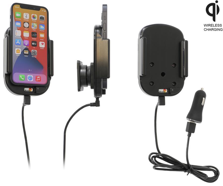 Obrázok produktu Aktívny držiak pre Apple iPhone 12 Mini Qi USB