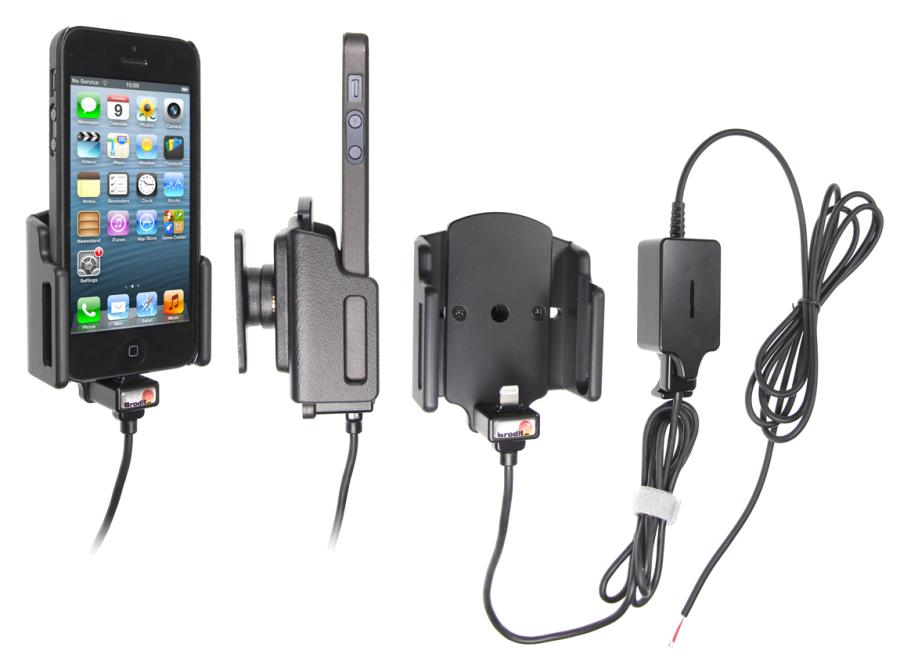 Aktívny držiak pre Apple iPhone 5 5S SE 5C s puzdrom II s Molex k f8b0d1d622d