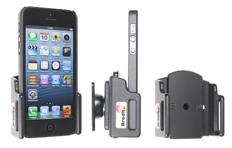Obrázok produktu Pasívny držiak pre Apple iPhone 5/5S/SE/5C s tenkým puzdrom