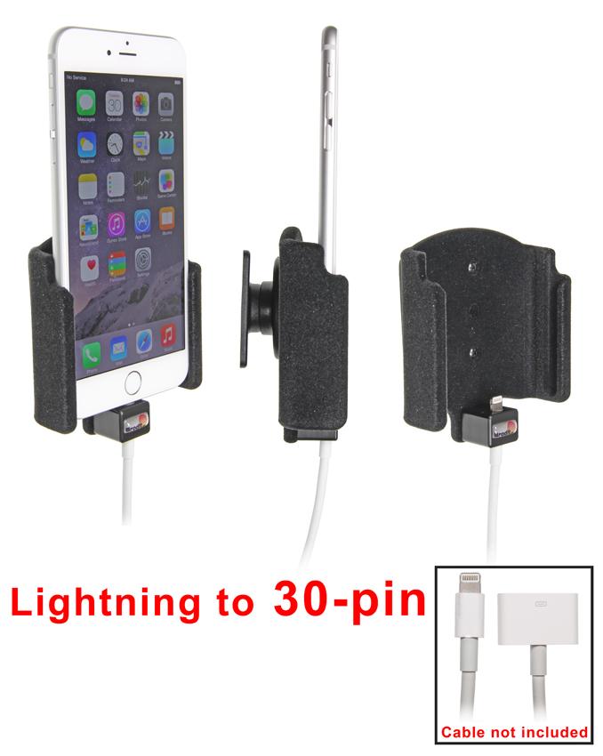 Obrázok produktu Držiak pre Apple iPhone 6 Plus pre použitie s orig. káblom/ 30pin