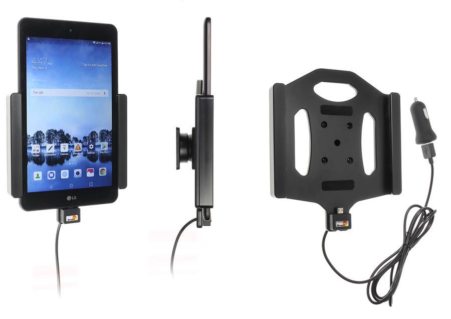 Obrázok produktu Aktívny držiak do auta pre LG G Pad2 8.0 USB+CL