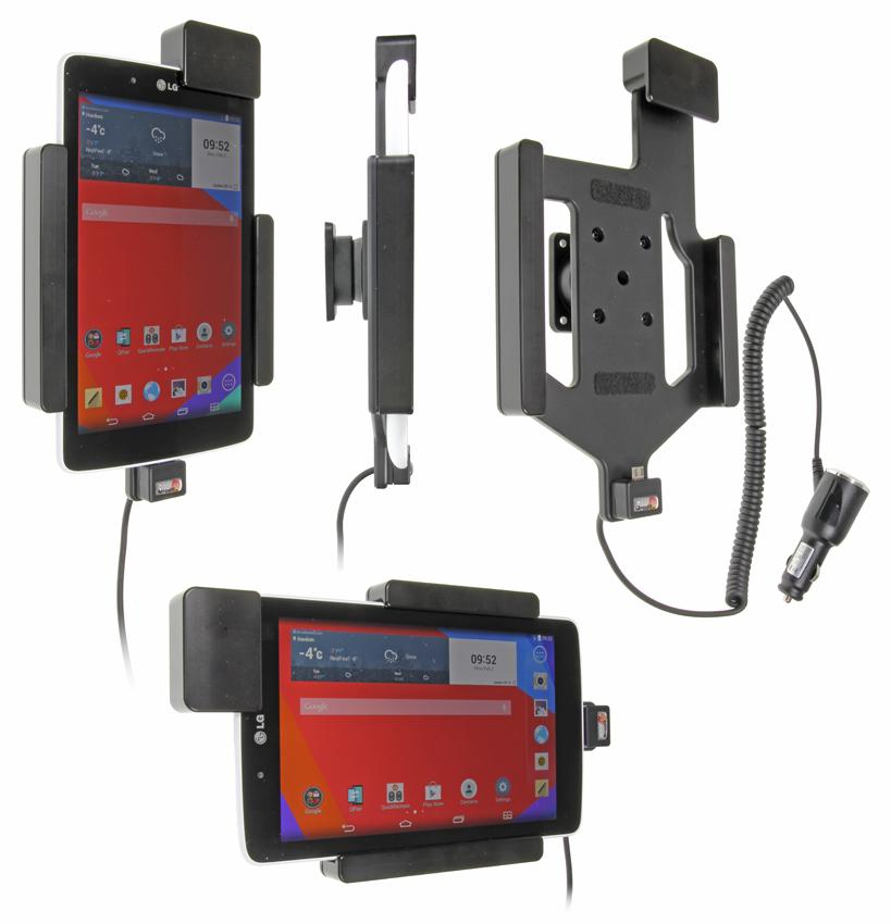 Obrázok produktu Aktívny držiak pre LG G Pad 7.0 s pruž. uzamykaním