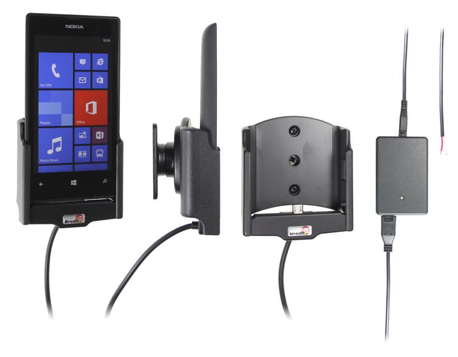 Obrázok produktu Aktívny držiak pre Nokia Lumia 520 s Molex kon.