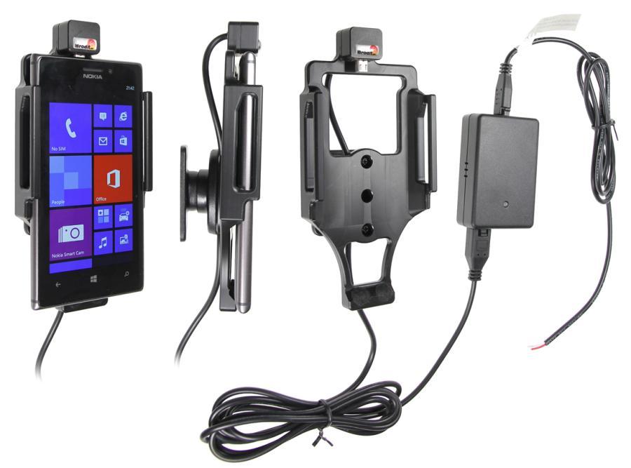 Obrázok produktu Aktívny držiak pre Nokia Lumia 925 s Molex kon.