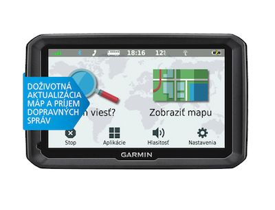Garmin dezl 580LMT-D (Truck) Lifetime + Slovakia Traffic