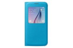Obrázok produktu Puzdro Fabric Flip Cover S-view pre Samsung Galaxy S6 Blue