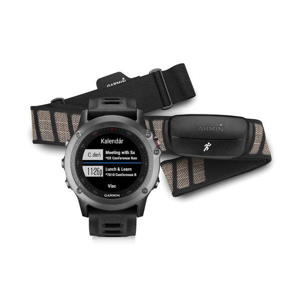 Garmin fénix 3 grey Performer Bundle