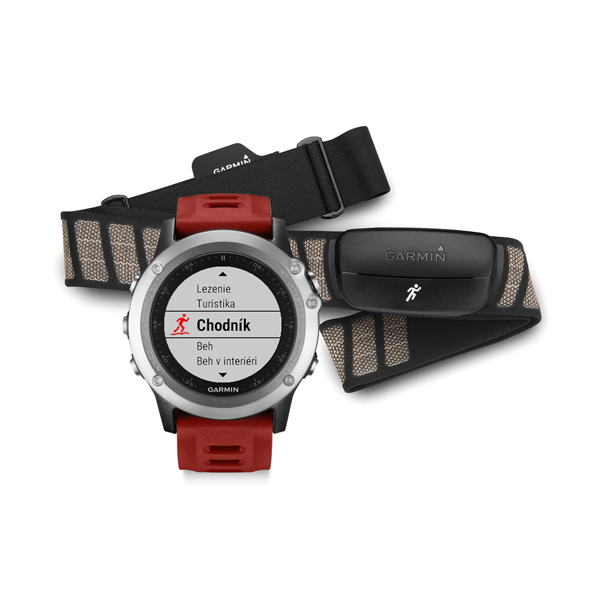 Garmin fénix 3 silver Performer Bundle