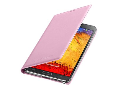 Puzdro Flip Cover pre Samsung Galaxy Note 3 N9005 pink