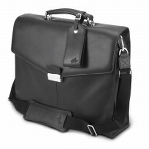 IBM ThinkPad Leather Attache Carrying Case