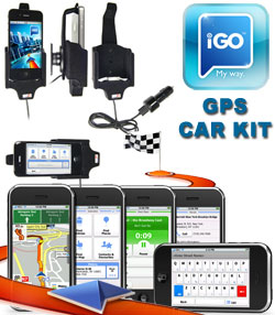 Apple iPhone 3GS iGO GPS Car Kit