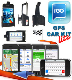 Obrázok produktu Apple iPhone 3GS iGO GPS Car Kit Lite