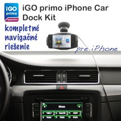 Obrázok produktu iGO primo iPhone Car Dock Kit Europe