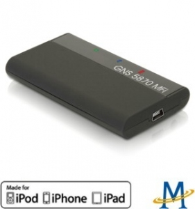 Bluetooth GPS Receiver pre Apple iPhone/iPod/ iPad