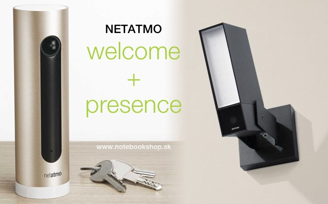 Obrázok produktu Netatmo Smart Indoor and Outdoor Camera (Welcome+ Presence)