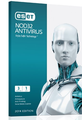 ESET NOD32 Antivirus 3PC + 2 ročný update