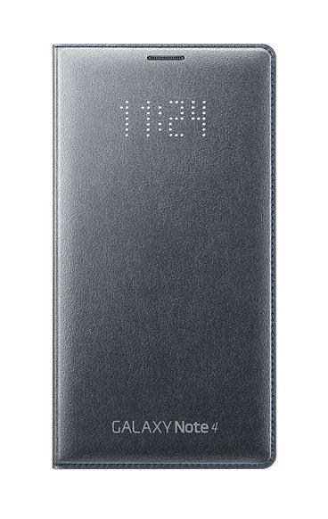 Obrázok produktu Puzdro LED Flip Cover pre Samsung Galaxy Note 4 black