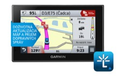 Garmin nüvi 2589LMT + nüMaps Lifetime + Slovakia Traffic