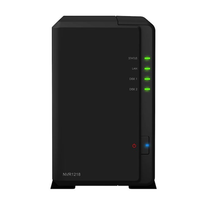 Synology NVR1218 Network Video Recorder - dohľadové centrum