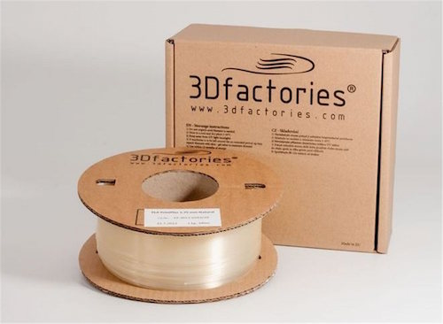 Obrázok produktu 3D Factories tlačová struna PLA 1,75 mm 1 Kg