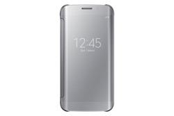 Obrázok produktu Puzdro Clear View Cover pre Samsung Galaxy S6 edge Silver
