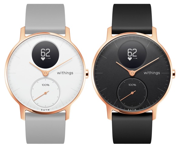 Obrázok produktu Withings Steel HR 36mm Rose Gold