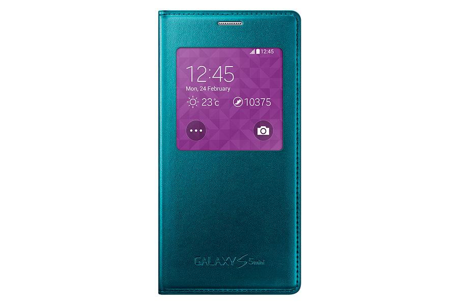 Obrázok produktu Puzdro Flip Cover S-view pre Samsung Galaxy S5 mini green